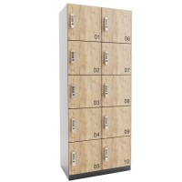 ARTA lockerkast met 10 lockers (2x5)