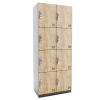 ARTA lockerkast met 8 lockers (2x4)