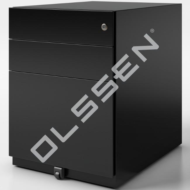 Bisley verrijdbaar ladenblok 2x materiaal 1x for Ladenblok groen