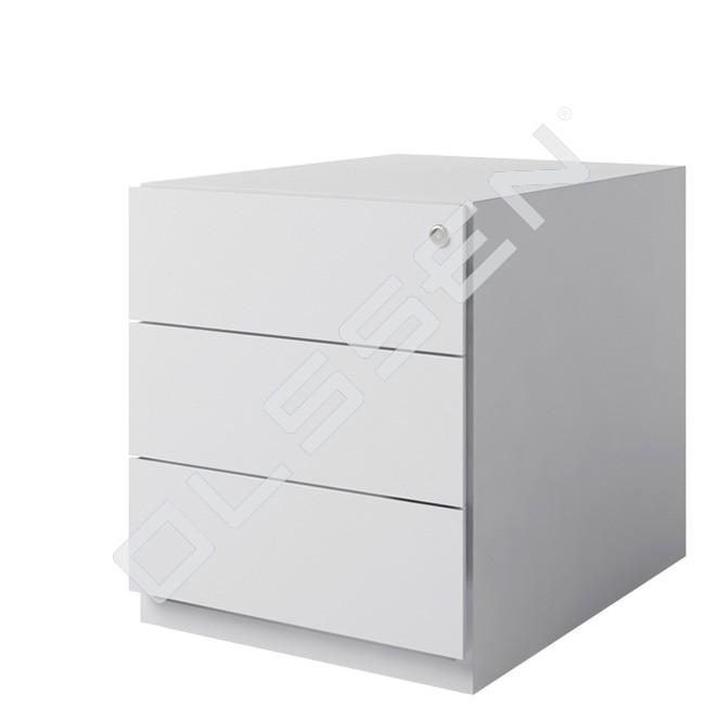 Bisley verrijdbaar ladenblok met 3x materiaallade for Ladenblok rvs