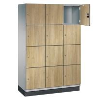 CAMBIO houten locker met 12 vakken - HPL deuren (breed model)