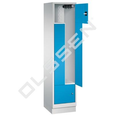CLASSIC Z-Locker 2-Persoons met vaste deuren