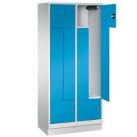 CLASSIC Z-Locker 4-Persoons met vaste deuren