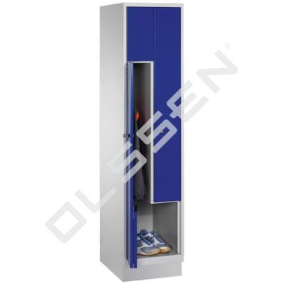 CLASSIC Z-Locker 2-Persoons met vouwmechanisme deuren