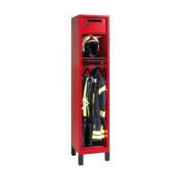Brandweerkast met helmhouder, kluis en postvak (type 4)