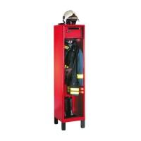 Brandweerkast met helmhouder en kluis (type 6)