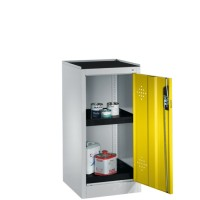 Milieukast / veiligheidskast Laag model (Polyethyleen lekbakken)