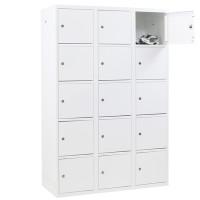 Metalen Locker met 15 vakken - breed model (Capsa)
