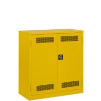 BASIC Milieu / veiligheidskast laag model (1 Legbord + Opvangbak..