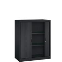 Roldeurkast - H.120 x B.120 cm - Inclusief 3 legborden