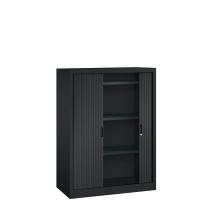 Roldeurkast - H.135 x B.100 cm - Inclusief 3 legborden