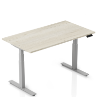 VOLT Elektrisch verstelbaar zit/sta bureau (140 x 80 cm)