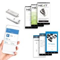 Smartphone App voor locker beheer (RFID / MIFARE)