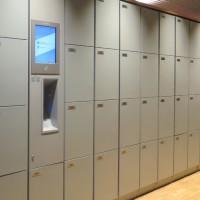 Lockerkast met automatisch blussysteem (8-vaks) (voor veilig opl..