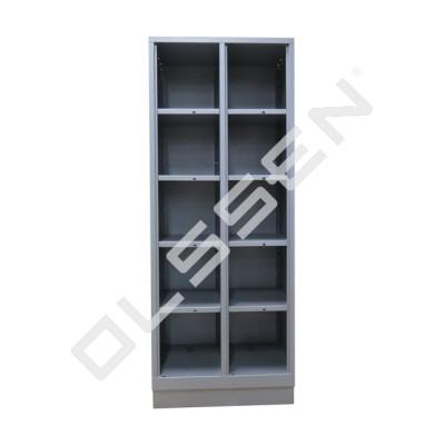 CLASSIC Open Vakkenkast met 10 vakken (voor schoenen en helmen)
