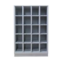 CLASSIC Open Vakkenkast met 20 vakken (voor schoenen en helmen)