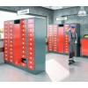 CAPSA 11-Vaks uitgifte locker met wasopvangkast (Gegalvaniseerd)