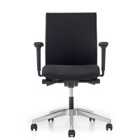 OLSSEN® Bureaustoel met gestoffeerde zitting en rug (3464)