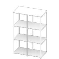 REVV Cubics medium - Circulair en modulair opbergsysteem