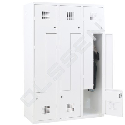 CAPSA Z-Locker voor 6 Personen (30 of 40 cm breed)
