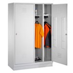 Lockers met speciale indeling