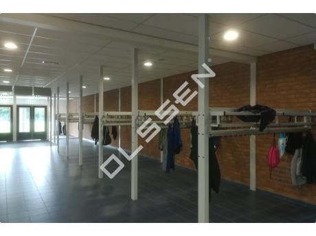 Maatwerk garderobes voor scholen